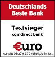 Comdirect Bank ist Deutschlands Beste Bank