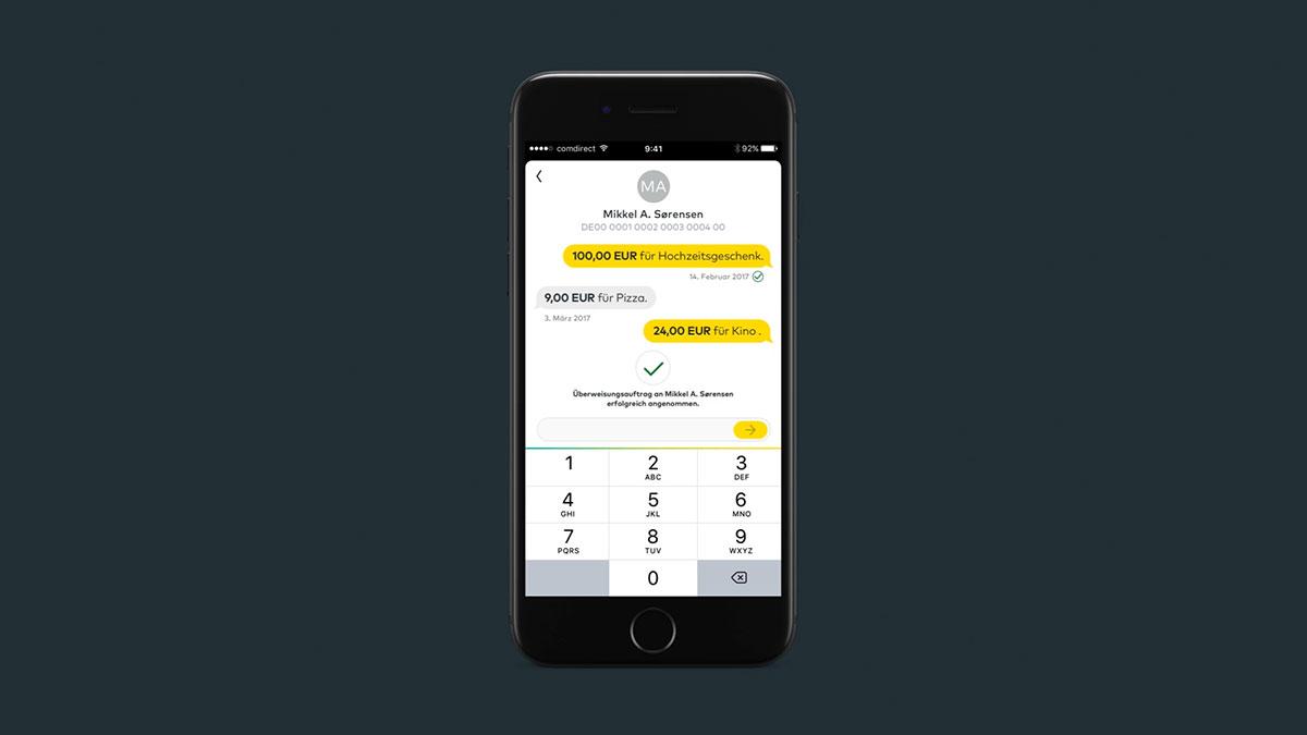 Die comdirect App Meine Bank im Handy   comdirect.de