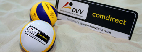 comdirect ist Innovationspartner des deutschen Volleyballs